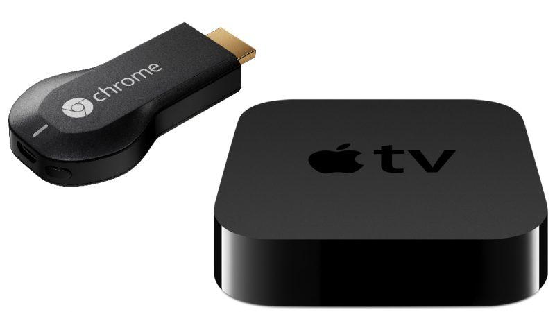 Apple TV e Chromecast