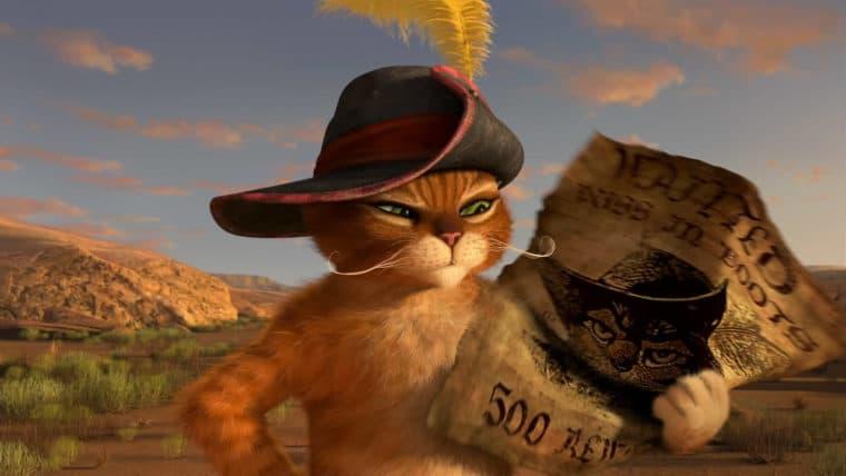 Série O Gato de Botas será interativa na Netflix