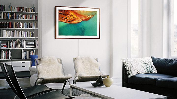 Samsung The Frame TV – TV imita Obra de Arte