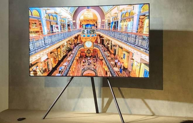 Nova linha de Smart TV QLED da Samsung – Lançamento no Brasil